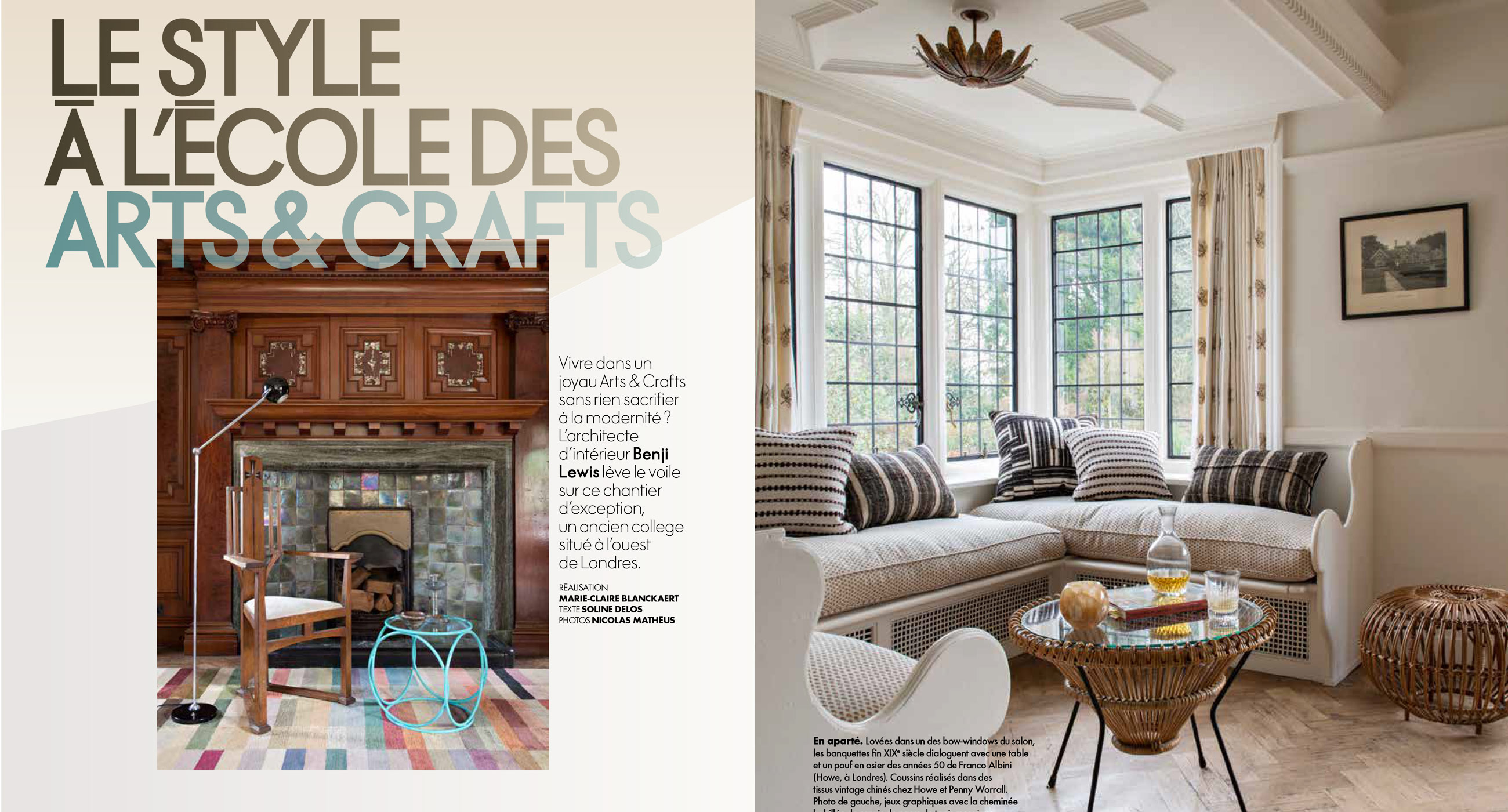 Press coverage in Arts and Crafts magazine